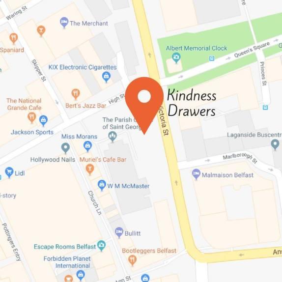 Kindness drawers