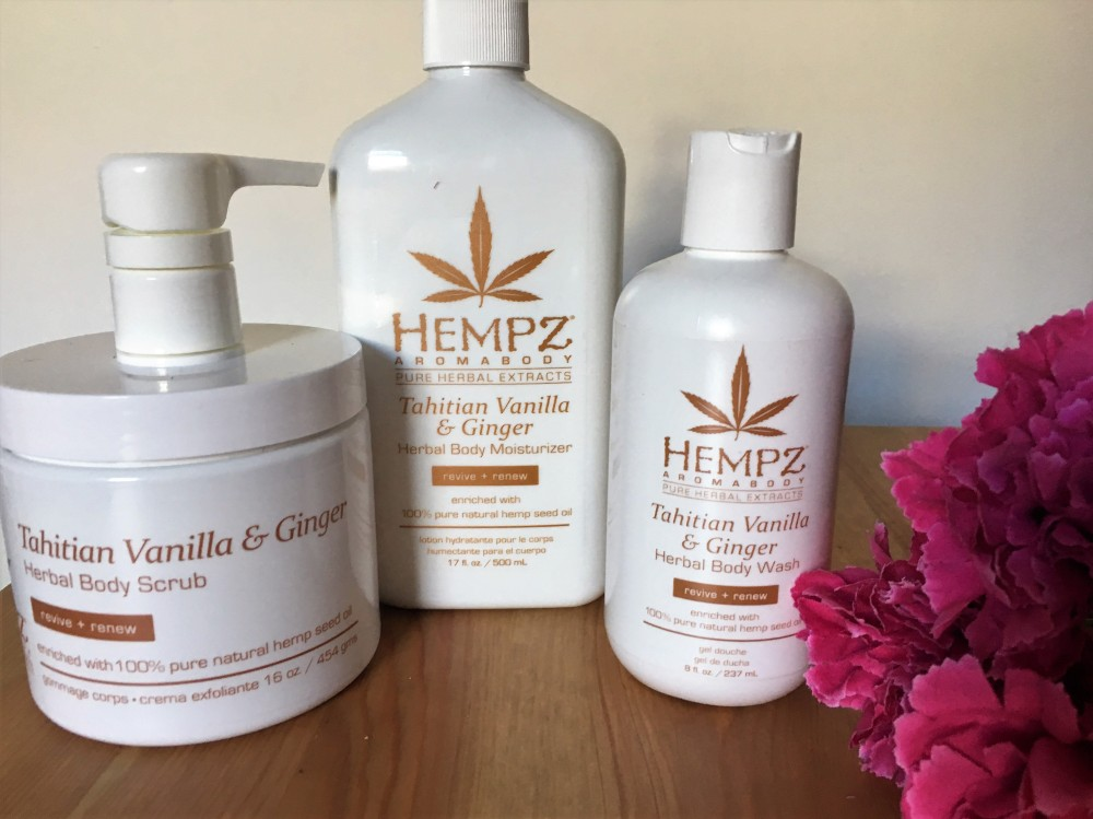 Hempz Tahitian Vanilla and Ginger
