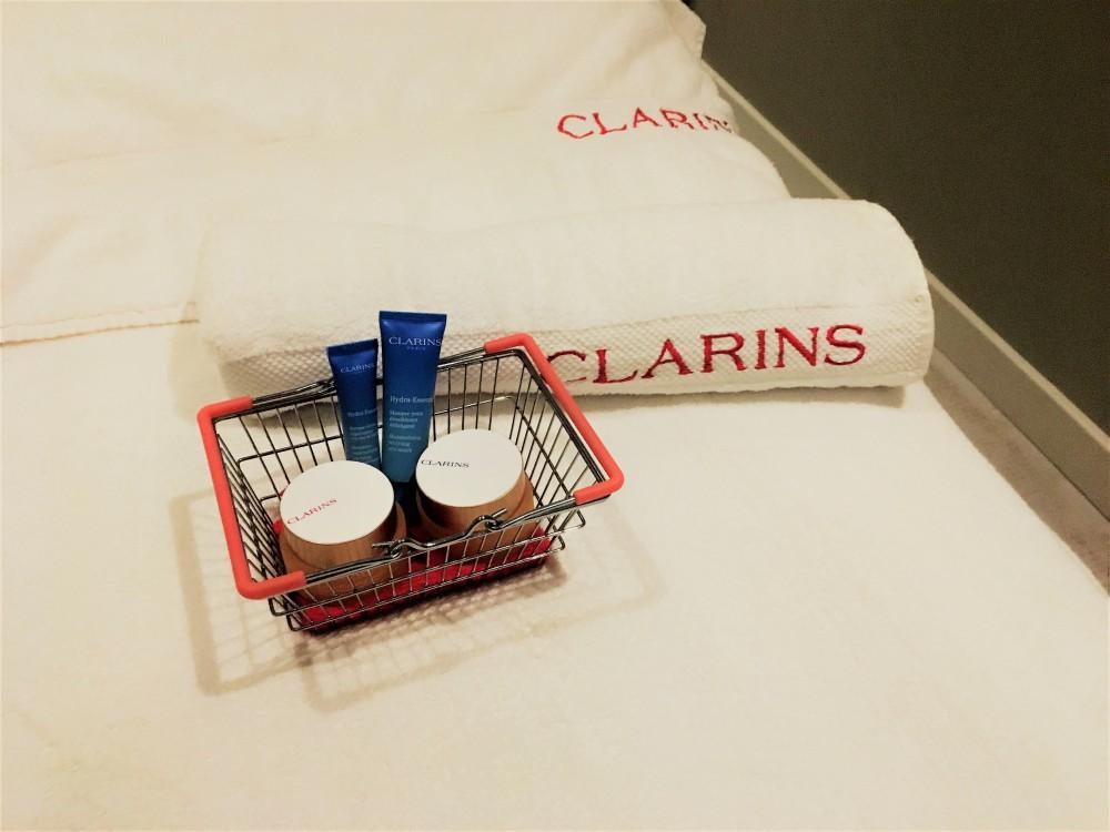 Clarins one